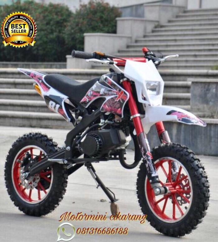 harga Motor mini trail kxd 50cc mesin 2tak Tokopedia.com