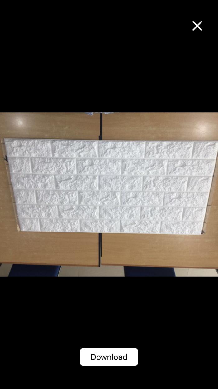 Jual Wallpaper Dinding Foam Brick 3d Putih Kota Bekasi Aneka Indah Wallpaper