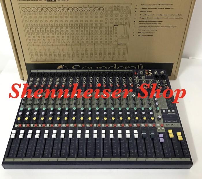 harga Mixer soundcraft efx 16 Tokopedia.com