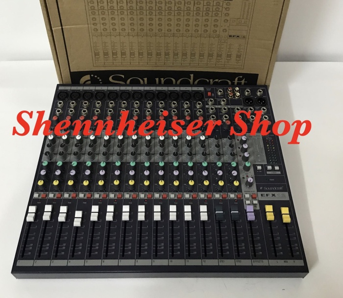 harga Mixer soundcraft efx 12 Tokopedia.com
