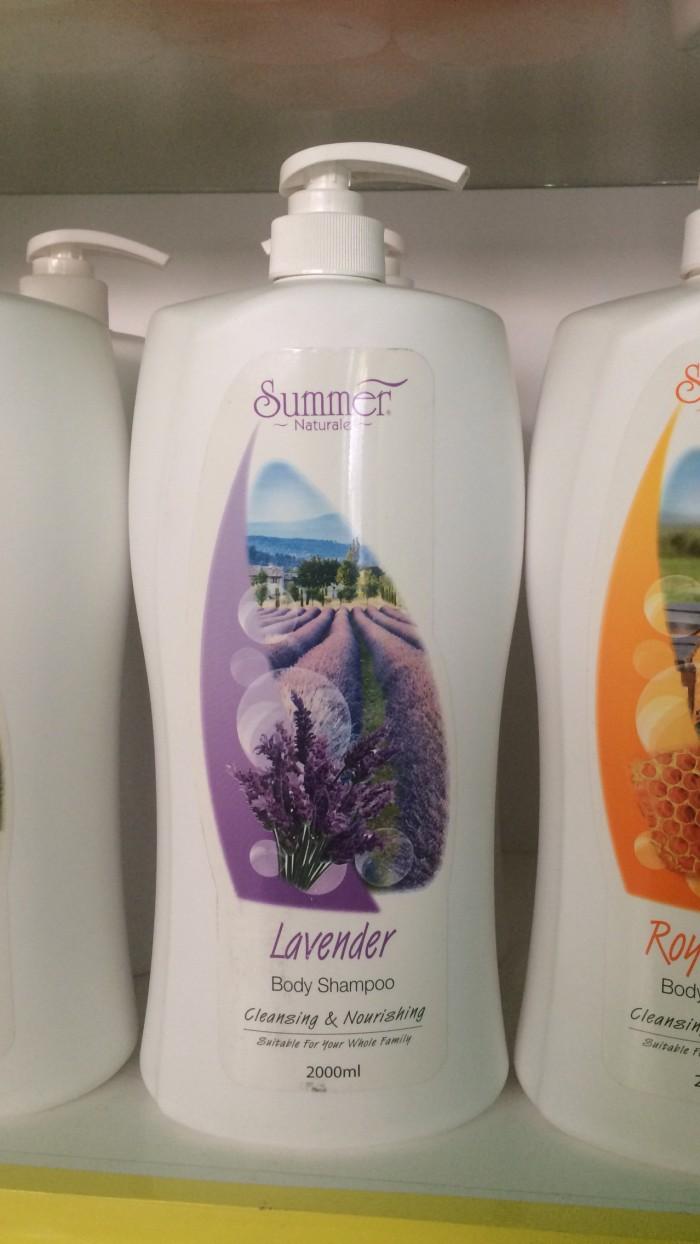 Summer Body Shampoo 2000ml Lavender Daftar Harga Penjualan Terbaik Sabun Goats Milk Cleansing Nourishing Naturale 500ml Mandi