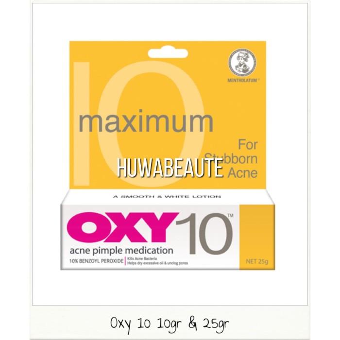 harga Oxy 10 10gram obat jerawat ampuh original termurah Tokopedia.com