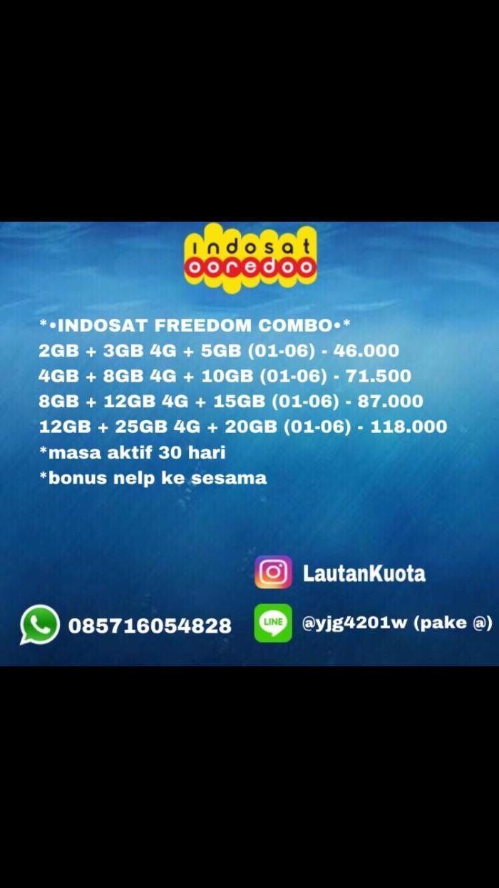 24 Daftar Harga Paket Internet Freedom Combo Terbaru 2018 Indosat 12gb Katalog