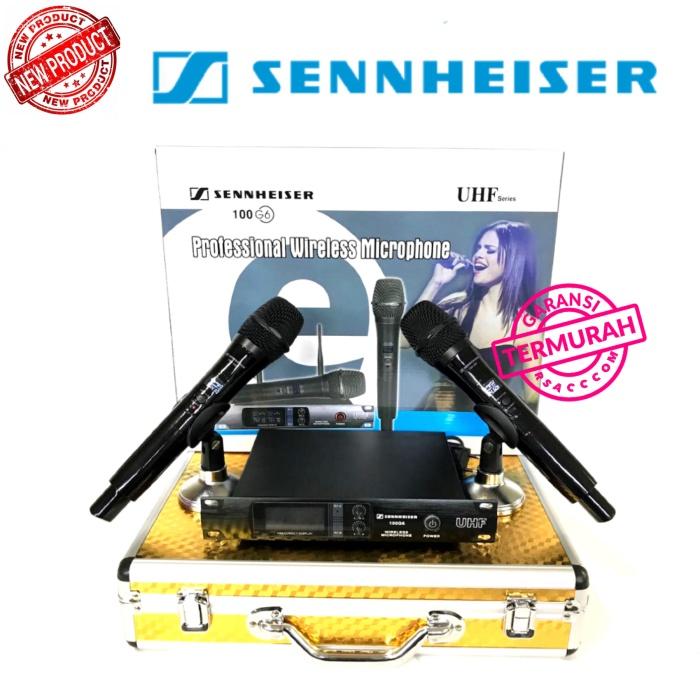 harga Mic wireless sennheiser 100 g6 handheld Tokopedia.com
