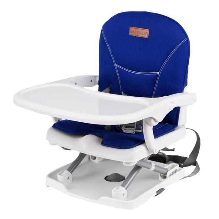 d01b6ca755b5 Jual BabyElle  Foldable   Easy Carry Booster Seat  Blue - SanFei ...