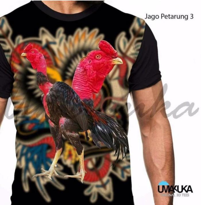 harga Jago petarung 3 kaos ayam aduan 3d fullprint Tokopedia.com