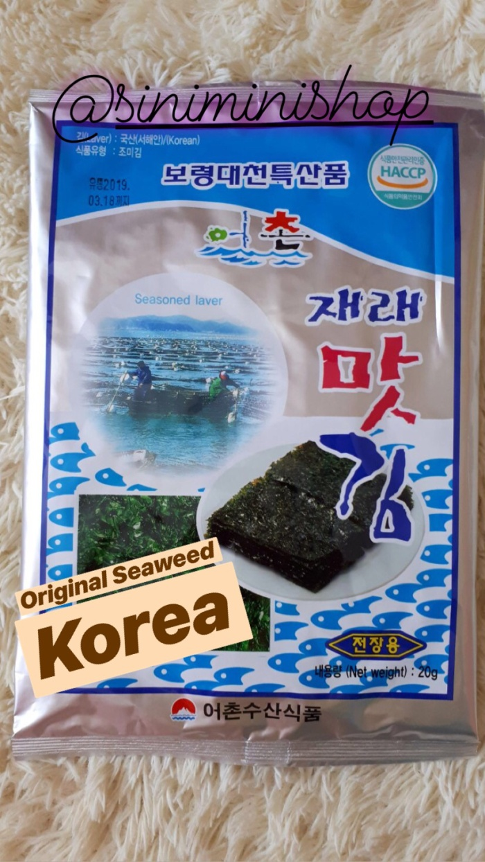 Jual RUMPUT LAUT Nori Seaweed Korea Original Import Jakarta Pusat Siniminishop