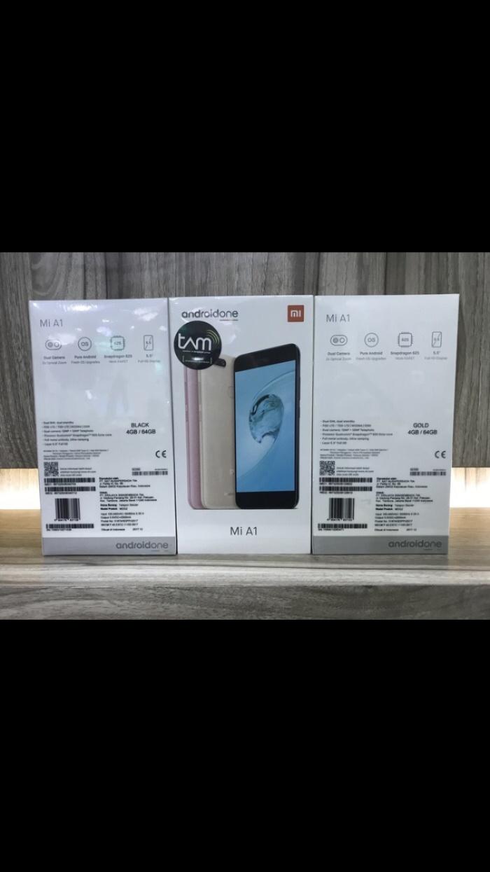 Jual Xiaomi Mi A1 4 64gb Cek Harga Di Redmi Note 64 Garansi Dist Resmi Tam 1 Tahun