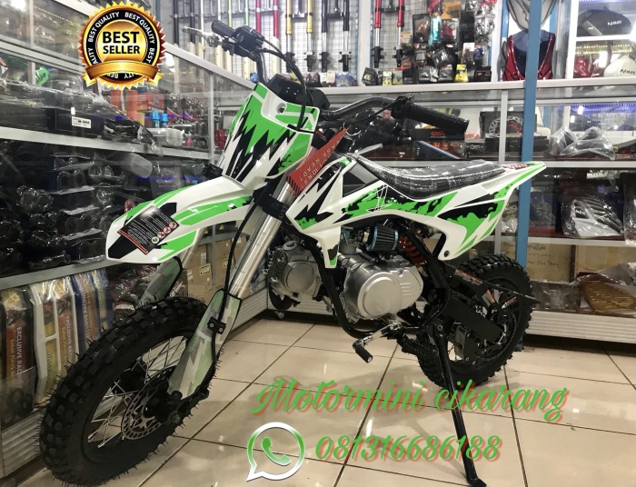 harga Motor mini trail 110cc manual 4speed kick starter Tokopedia.com