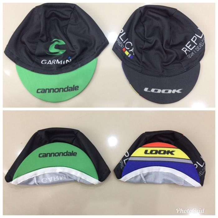 harga Cycling cap topi sepeda cannondale look Tokopedia.com