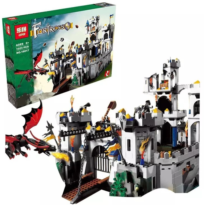 Jual Lego King Castle Siege Lepin Babiegshop Tokopedia