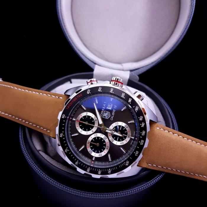 harga Jam tangan pria merk tag heuer calibre 16 formula 1 type 0183 free yes Tokopedia.com