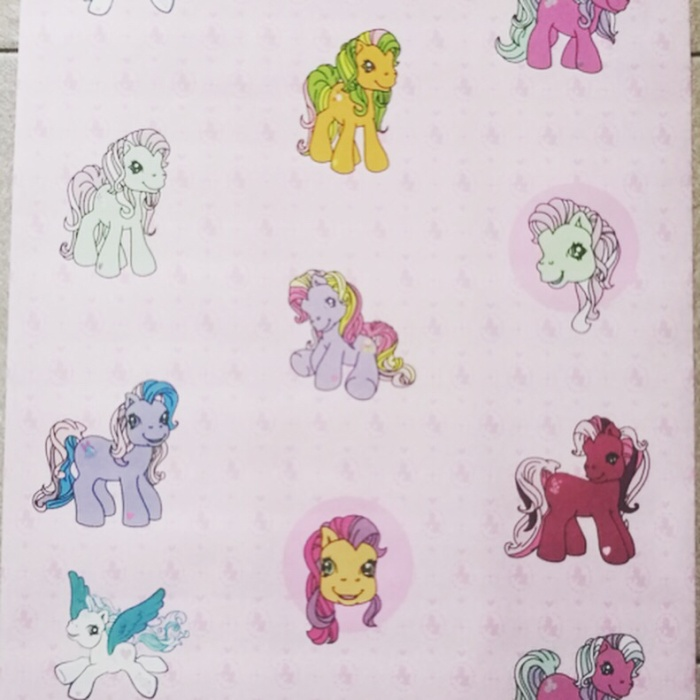 Jual Wallpaper Little Pony Kuda Pony Pink 45cm X 10m Jakarta Barat Genaris Wallpaper Tokopedia