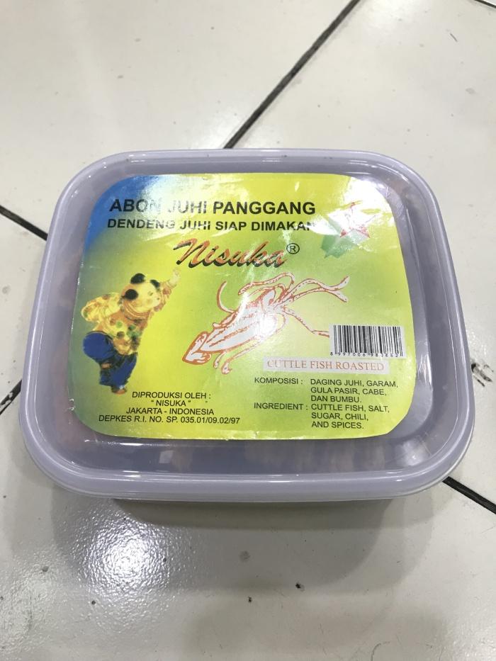 harga Nisuka abon juhi panggang snack makan Tokopedia.com