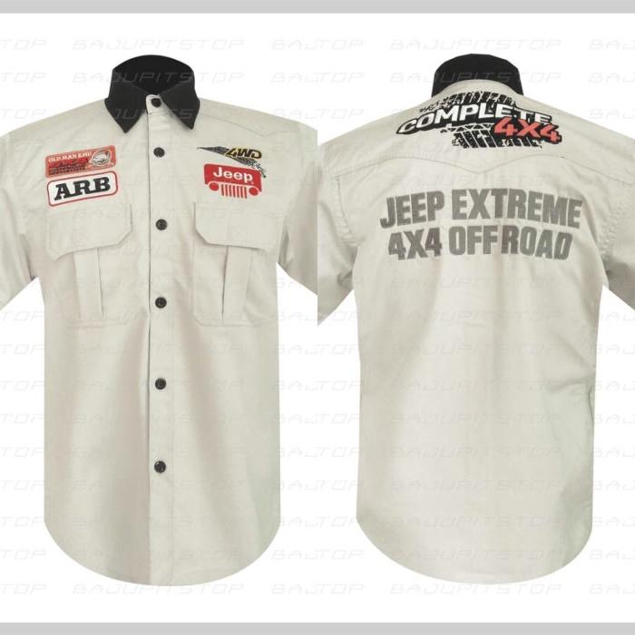 Jual kemeja jeep cek harga di PriceArea.com 1384418f9d