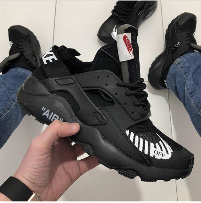 Nike Air Huarache Ultra Off White All BlackPremium Original   sepatu n 575949cd82