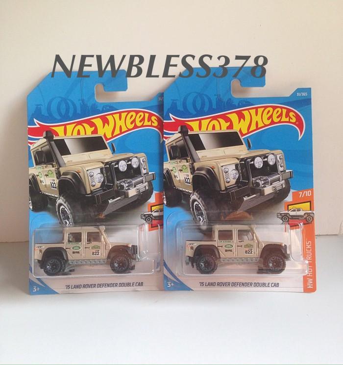 harga Hotwheels seri 2018 - hotwheels - hotwheels  landrover - land rover Tokopedia.com