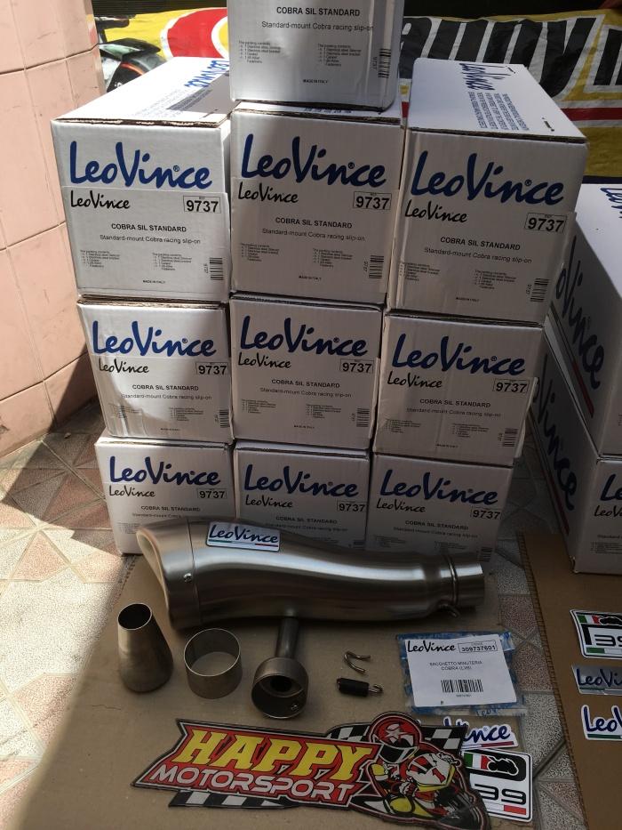 harga New!! knalpot leovince original italy type cobra sil standard stainles Tokopedia.com