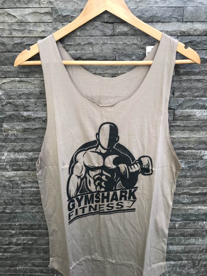 harga Kaos lengan buntung / singlet / kutang pria gymshark fitness Tokopedia.com