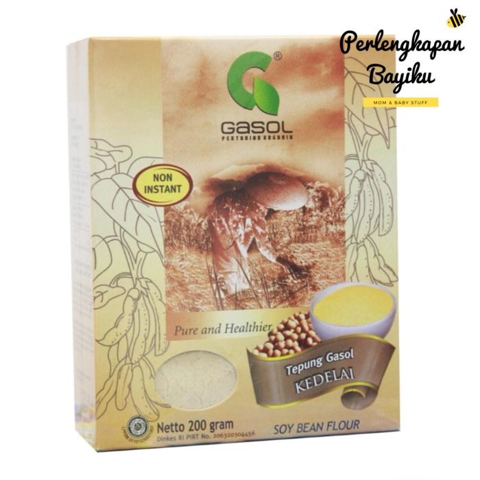 Tepung Gasol 200gr (Kacang Kedelai / Garut Arrowroot / Beras Hitam)