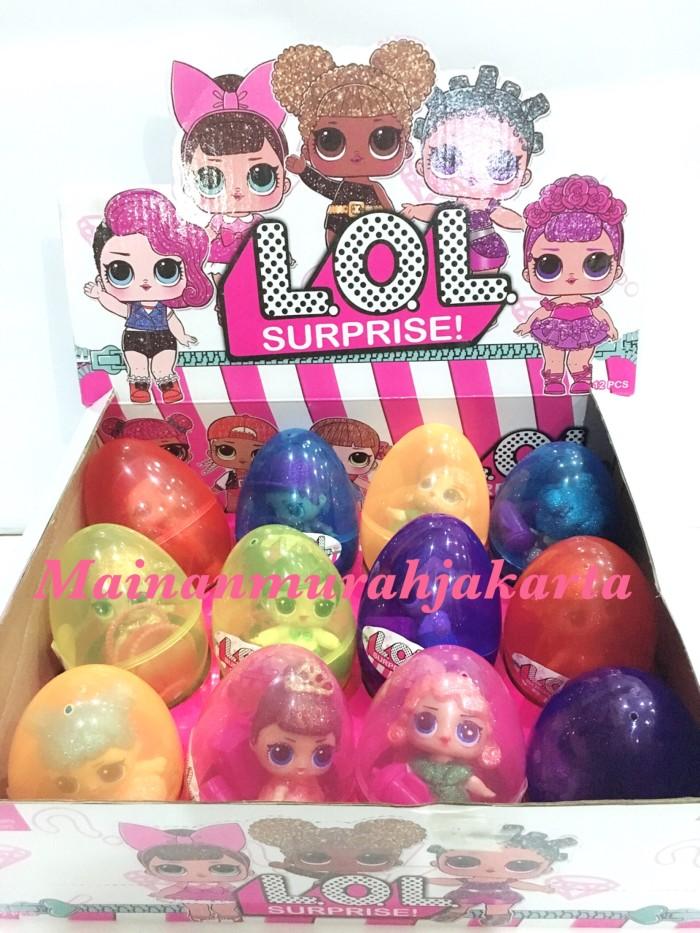 harga Lol surprise eggs transparan besar Tokopedia.com