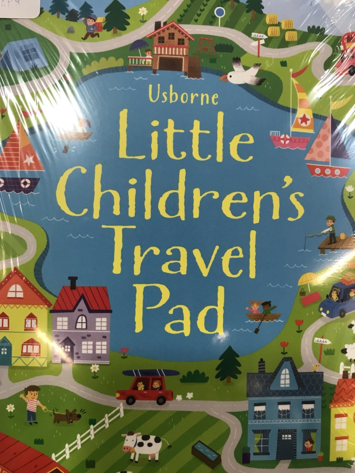 harga Usborne little childrens travel pad Tokopedia.com