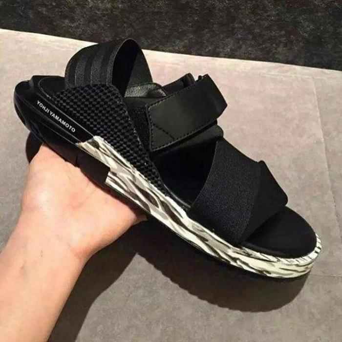 6d2f70feac43f Jual Adidas Y3 Kaohe Sandals Black White Premium   sandal y3 kaohe ...
