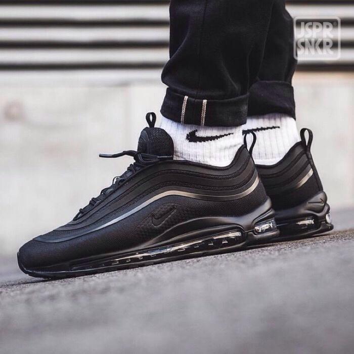 Jual Nike Air Max 97 Ultra All Black Kota Bandung Jasper Sneakerz | Tokopedia