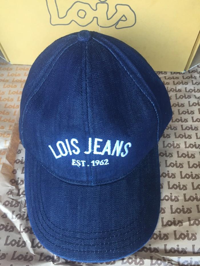 Jual Topi Lois Original-Blue Wash - DND Stores  d5f1d9ca19