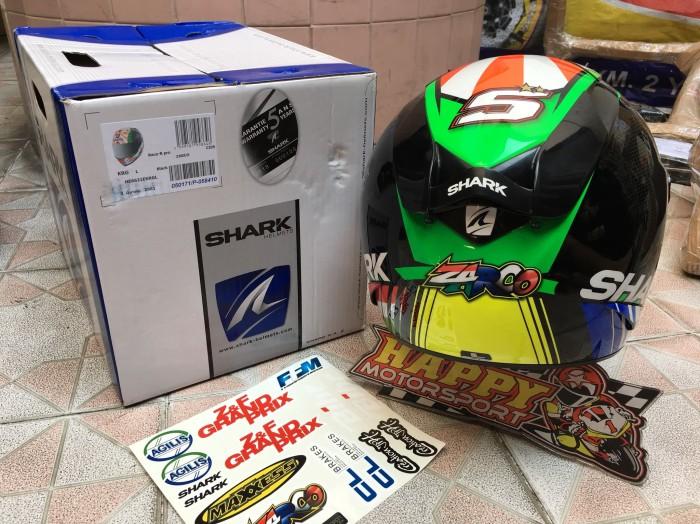 Helm Fullface Shark RaceRPro carbon Zarco 2018 ori France euro M L XL 1