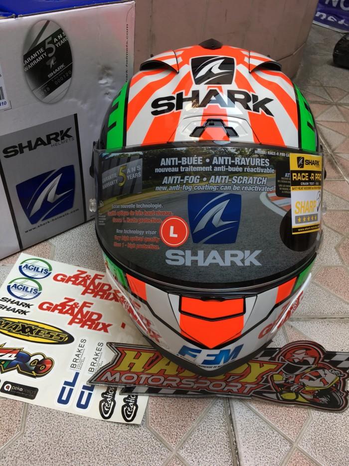 Helm Fullface Shark RaceRPro carbon Zarco 2018 ori France euro M L XL 4
