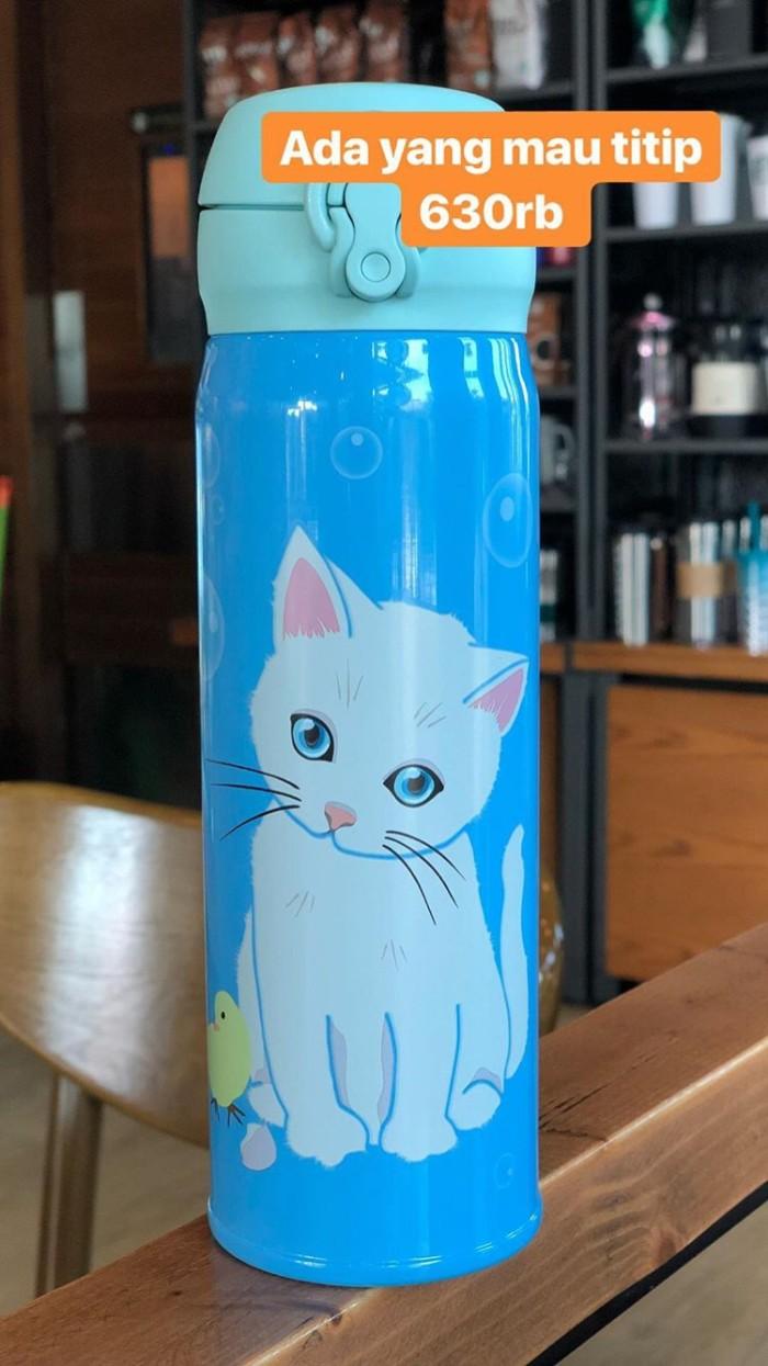Starbucks paul and joe blue cat