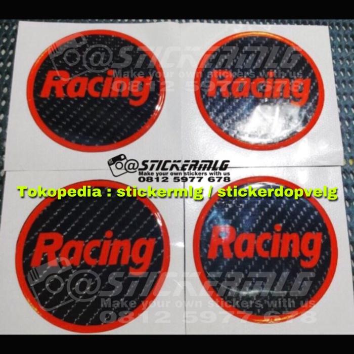 harga Sticker timbul tutup dop velg racing enkei 4 pcs Tokopedia.com