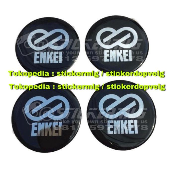 harga Sticker timbul tutup dop velg enkei 4pcs Tokopedia.com