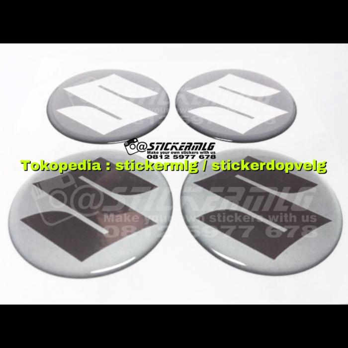 harga Sticker timbul tutup dop velg suzuki silver chrome 4 pcs Tokopedia.com