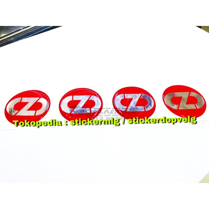 harga Sticker timbul tutup dop velg oz racing old red chrome 4 pcs Tokopedia.com