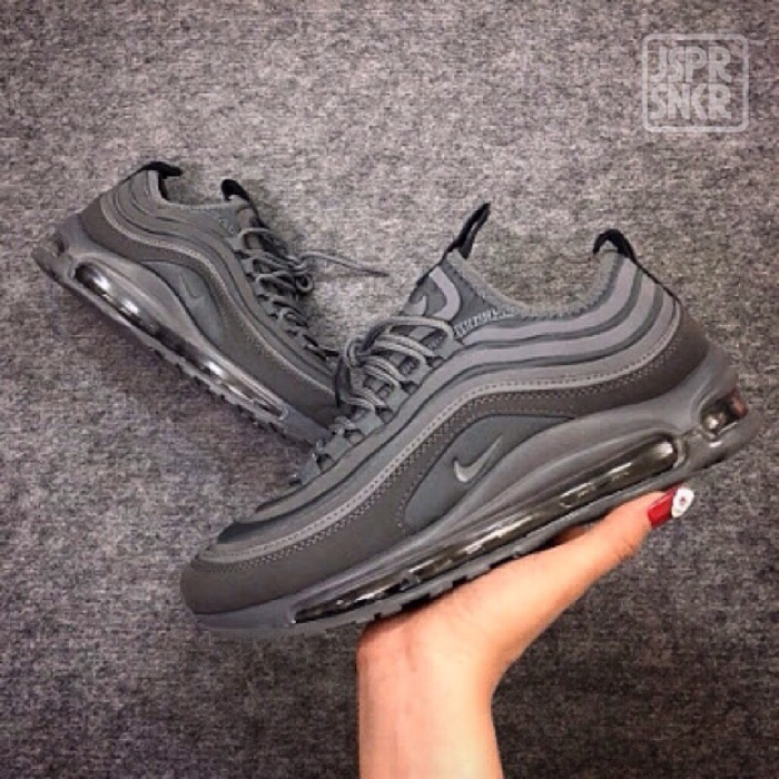 7951c4d620 Jual Nike Air Max 97 Ultra SE Suede - All Grey - Jasper Sneakerz ...