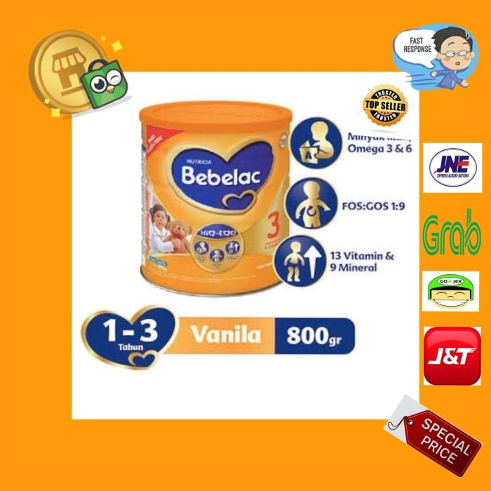 harga Nutricia bebelac 3 [800 gr] rasa vanila (kemasan baru) Tokopedia.com