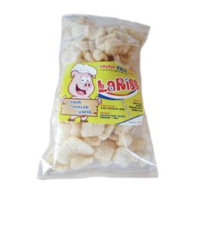 harga Krupuk kulit babi laris khas bali 150gr Tokopedia.com