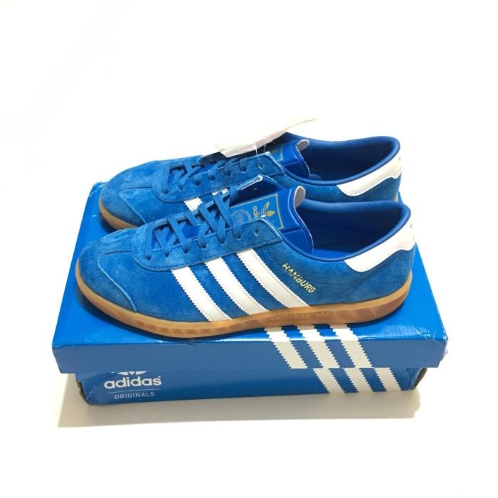 Jual Adidas Hamburg Blue bird - BM ORIGINAL FOOTWEAR  690870f4e4