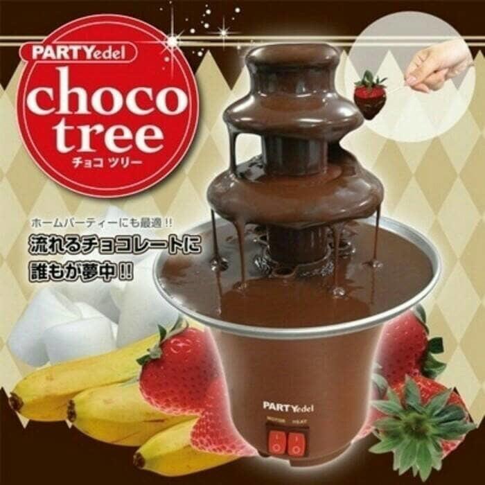 harga Chocolate fondue fountain / mesin mini coklat air mancur Tokopedia.com