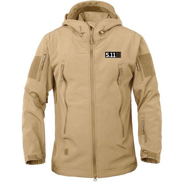 Jaket tad army 5.11 import jaket gunung outdoor 511 tan