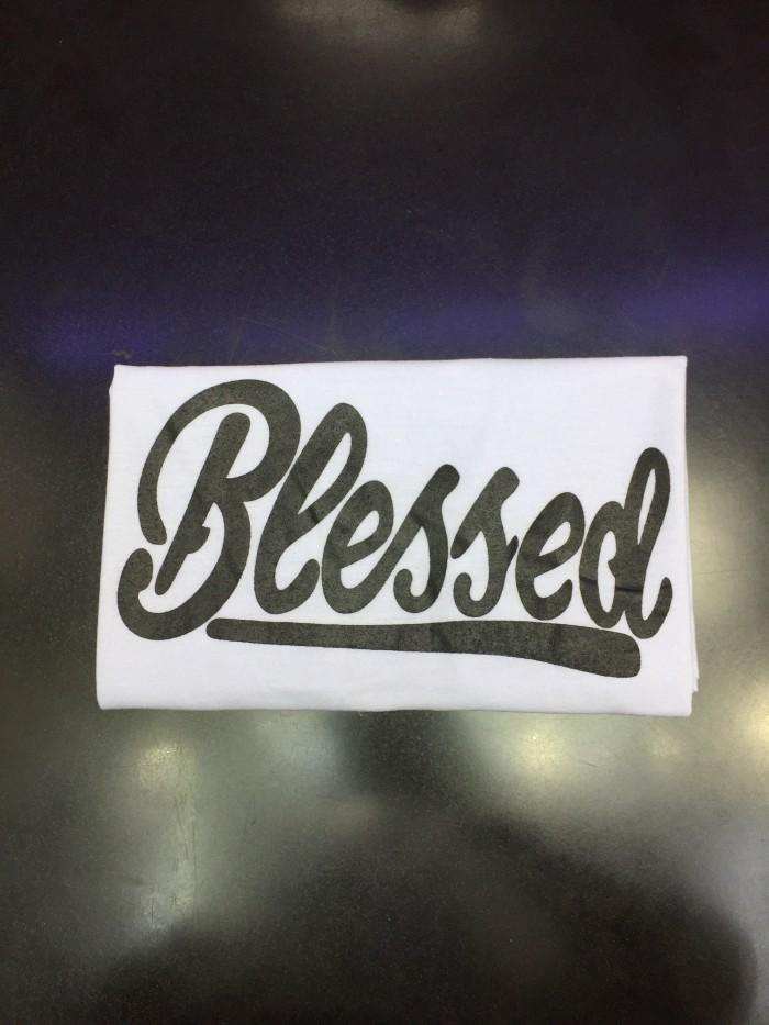 Kaos Blessed Tumblr Tee Wanita Murah