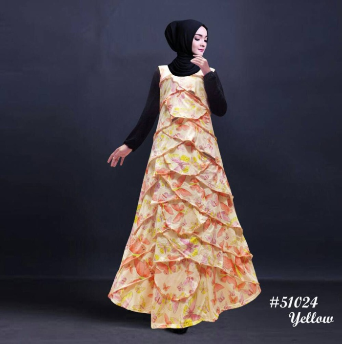 harga Gamis remaja muslimah syar'i / gamis syari / gamis remaja muslimah Tokopedia.com