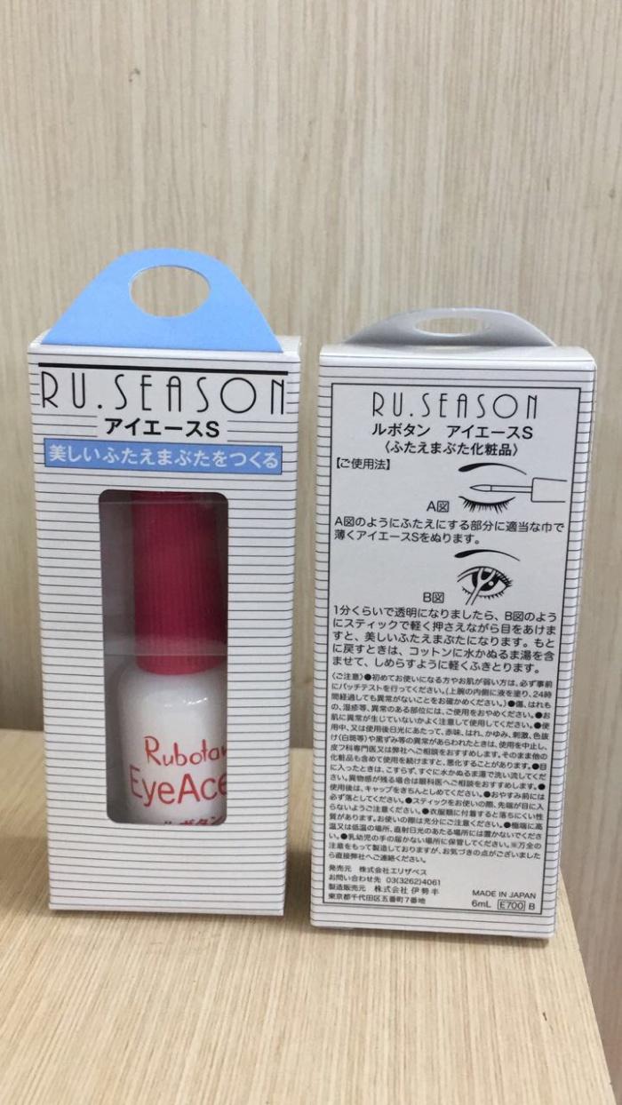 Rubotan Eye Ace S Lem Bulu Mata Daftar Harga Terlengkap Indonesia Reguler 6 Ml Made In Japan Original