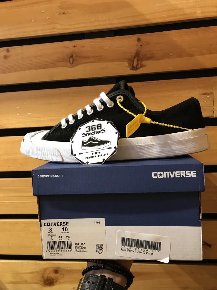 harga Converse jack purcell pro x polar black white Tokopedia.com