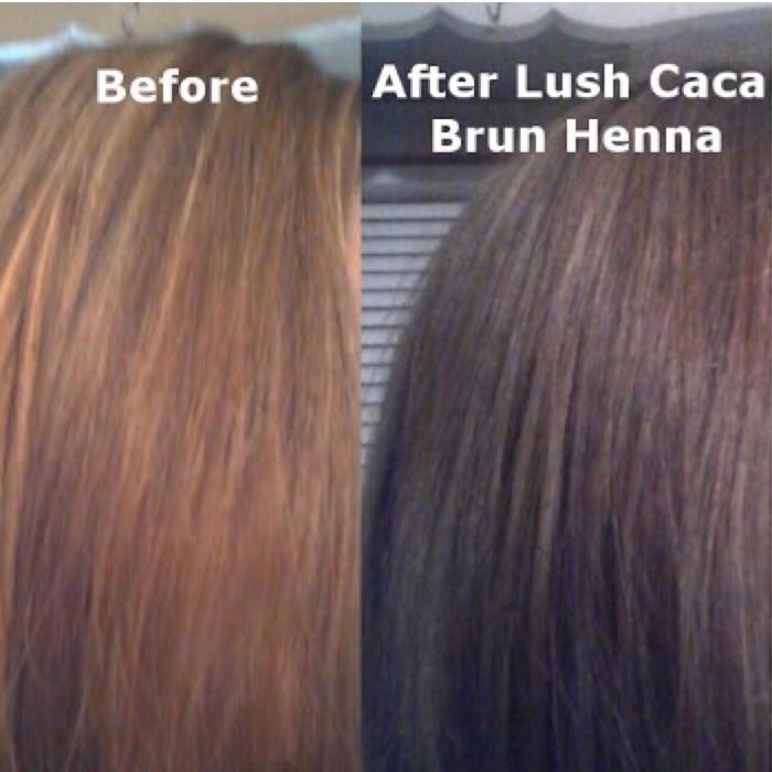 Jual Original Lush Henna Caca Brun Papero Shop Tokopedia