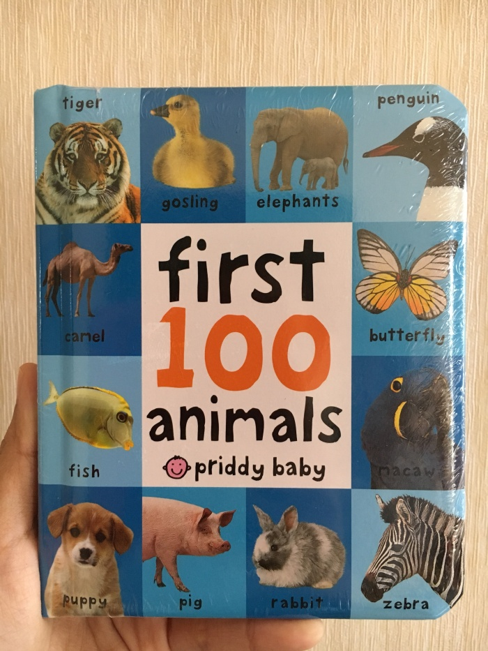 harga First 100 animals by priddy books Tokopedia.com