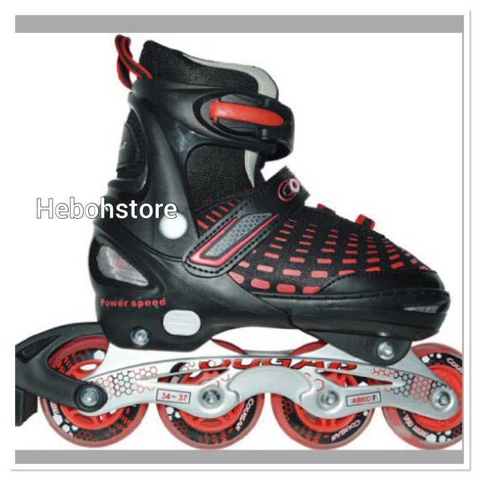 harga Sepatu roda inline skate cougar speed original Tokopedia.com