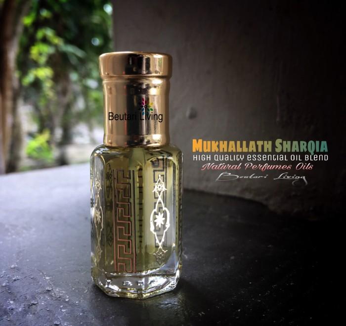 harga 12ml mukhallat sharqia parfume oil (parfum arab minyak wangi saudi) Tokopedia.com